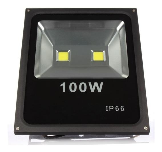 Refletor De Led 100w Branco Frio Bivolt Ideais Para Retrofit Dos Refletores De Luz Halogena, Gerando Uma Enorme Economia
