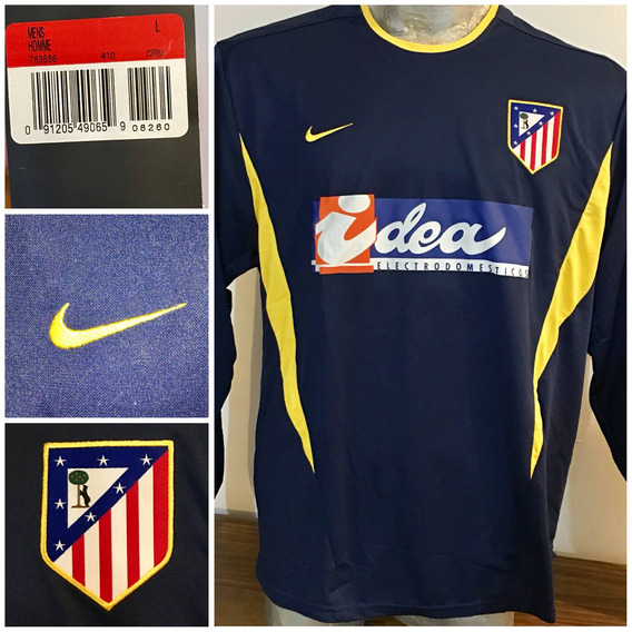 Camiseta Atletico De Madrid,player, Manga Larga 2002/03 Away