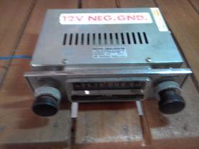 Rádio Automotivo Antigo  Rh 12 - J