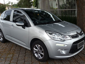 Citroen C3 1.5 Attraction 2014/2015 Prata 14000km Único Dono