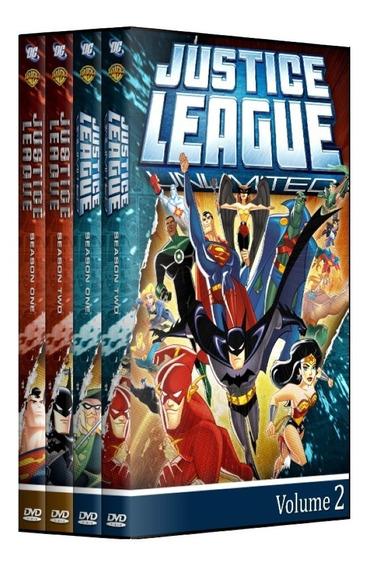 Dvd Liga Da Justiça + Liga Da Justiça Sem Limites - Completo