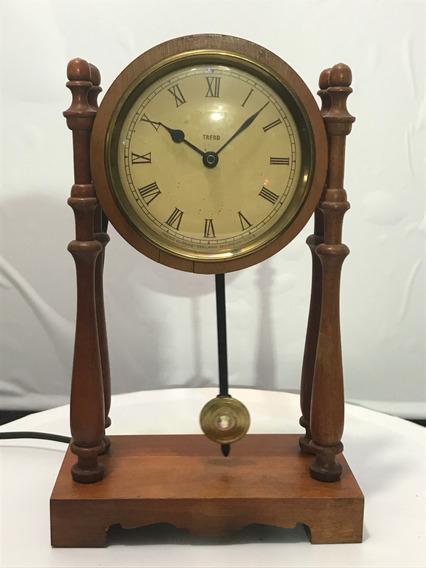 Hermoso Reloj Trend Pendulo Electrico U S A Vintage Original