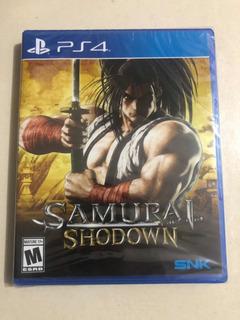 Samurai Shodown Ps4 Nuevo Sellado