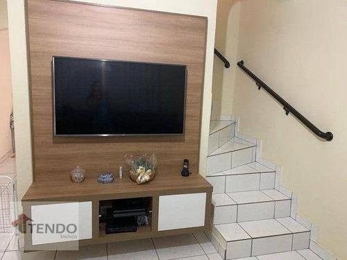 Imagem 1 de 18 de Imob03 - Casa 288 M² - Venda - 4 Dormitórios - 2 Suítes - Jardim Paulista - Mauá/sp - Ca0827