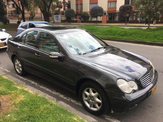 Mercedes Benz C180 2002 Perfecto Estado Poco Kilometraje