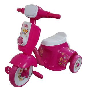 Triciclo Mytoy Moto Trike Musica