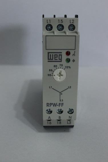 Relé Falta De Fase Eletrônico Weg Rpw-ff-d66 220-240v