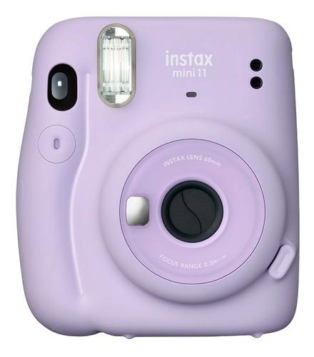 Câmera Instax Mini 11 Instantânea Lilás C/ Flash Fujifilm