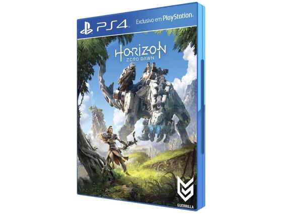 Jogo Horizon Zero Dawn Para Ps4 Playstation 4