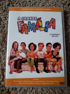 Dvd A Grande Familia - 4° Temporada Completa Viva - 6 Dvds