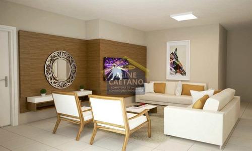 Ap 1 Dorm, Guilhermina Entrada De R$ 45mil - Vesa0939