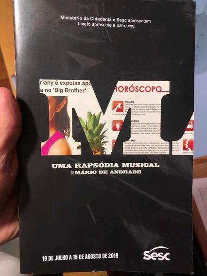 Macunaíma - Programa Peça Teatral