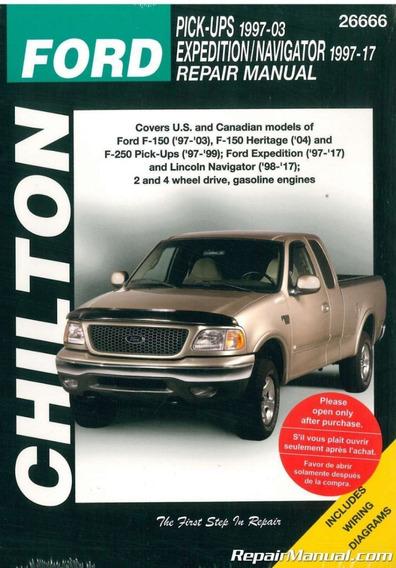 Manual De Manutenção Ford Pick Ups