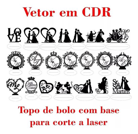 21 Arquivos Vetorizados P Cnc Laser Centro De Mesa Casamento