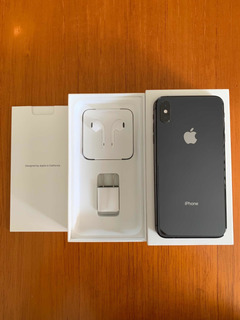 iPhone Xs Max 64 Gb Space Gray Como Nuevo + AirPods