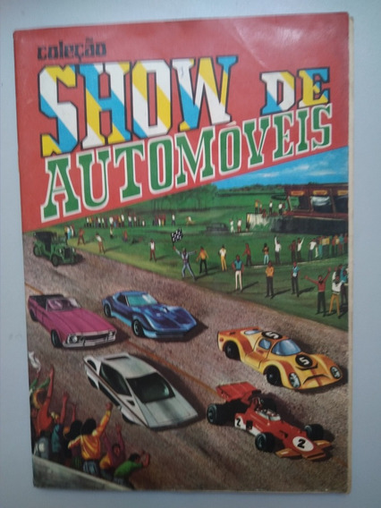 Álbum Show De Automóveis - Editora Sadira - Completo 1973
