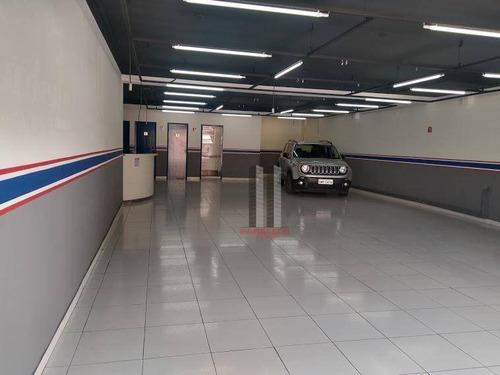 Salão Para Alugar, 200 M² Por R$ 7.000,00/mês - Mooca - São Paulo/sp - Sl0254