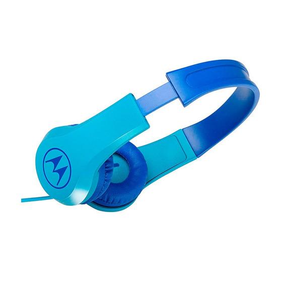 Audífonos Para Niños Motorola Squads 200 Bl Azul