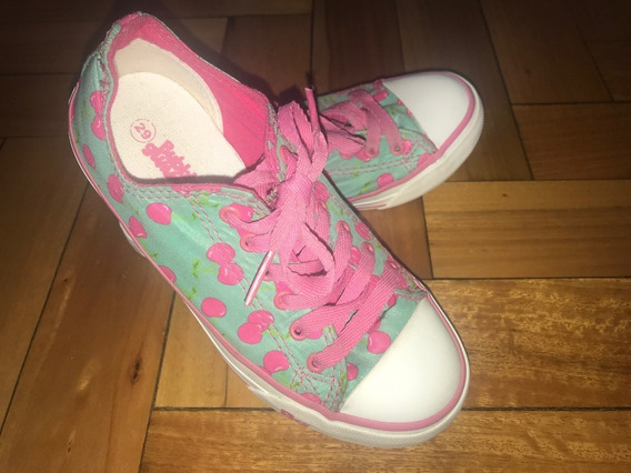 Zapatillas Nena Bubble Gummers De Lona Estampada T29