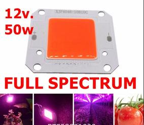 Chip Cob Led 50w Full Spectrum Plantas Dc 12v Cultivo Indoor