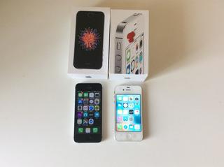 iPhone Se | 16gb | + iPhone 4s 8gb | R$ 600,00