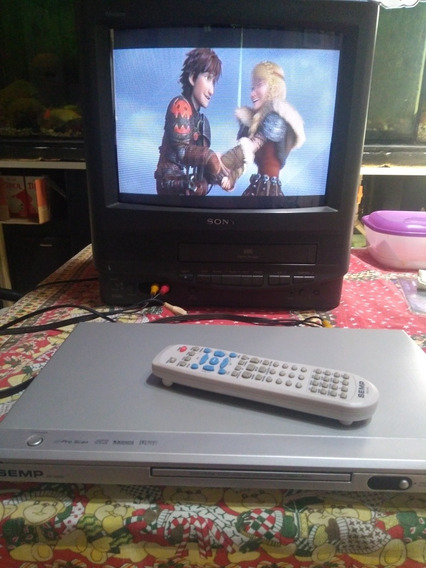 Dvd Semp Sd7070s Com Controle