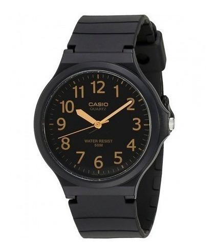 Relógio Casio Masculino Preto Mw-240-1b2vdf Original Nota Fiscal
