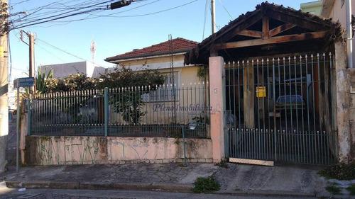 Terreno À Venda, 250 M² Por R$ 550.000,00 - Vila Santista - São Paulo/sp - Te0057