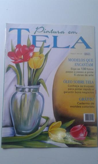 Revista Pintura Em Tela 5 Modelos Que Encantam