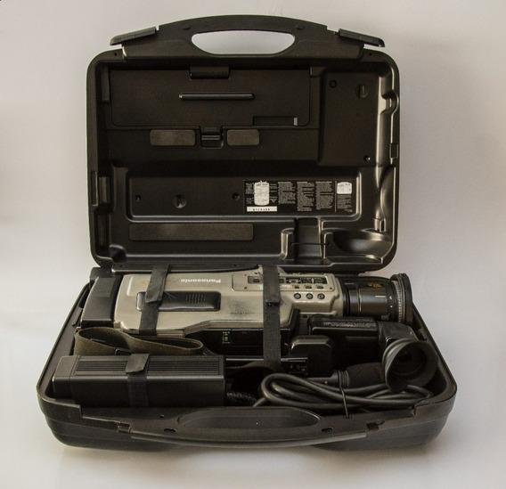 Filmadora Panasonic Svhs Ag-456up Funcionando Completa Com M