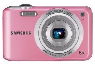 Camera Samsung Es65 10.2 Rosa Brinde Capa + 4gb