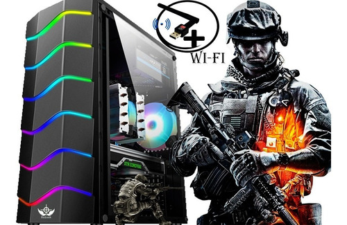 Imagem 1 de 2 de Cpu Gamer Barata Amd A8 16gb Ssd240 Video Radeon R7