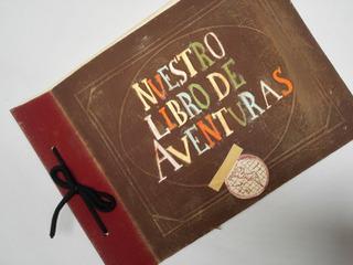 Nuestro Libro De Aventuras Up Album Regalo De Aniversario