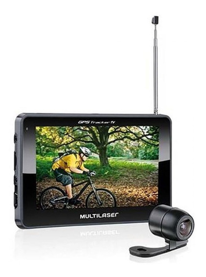 Gps Auto Multilaser Tracker Iii Tela 4,3 P Tv Digital Gp035