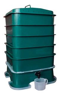 Compostera Lombriz Compost Vermitek 5 Bandejas Amv Sports