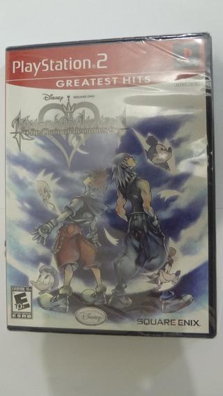 Kingdom Hearts Re: Chain Of Memories Ps2 Novo E Lacrado