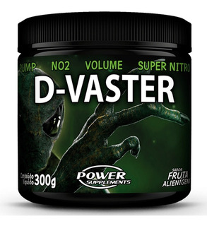 D-vaster 300g Pré Treino Power Supplements