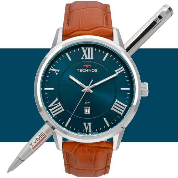 Relógio Technos Masculino Classic Steel 2115mtx/0a - C/ Nfe