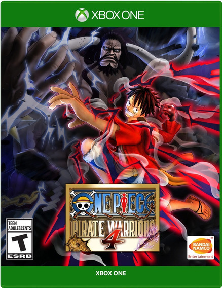One Piece: Pirate Warriors 4 Xbox One Mídia Física Lacrado