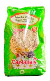 X6 Viruta Vegetal Canaima 1.5k Cuy Cobayas Erizo Chimuelocl