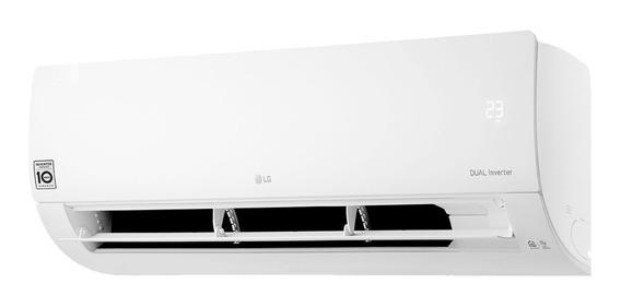 Ar condicionado LG Dual Inverter Voice split frio 18000BTU/h branco 220V S4-Q18KL31A