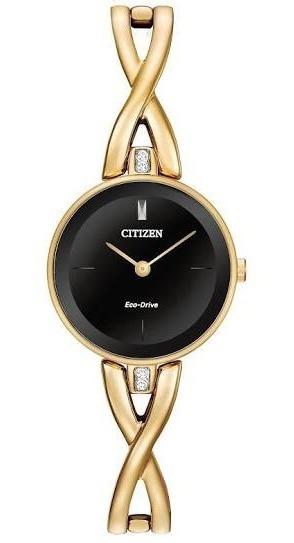 Relógio Citizen Eco Drive Mini Ladies Gold Ex1422-54e