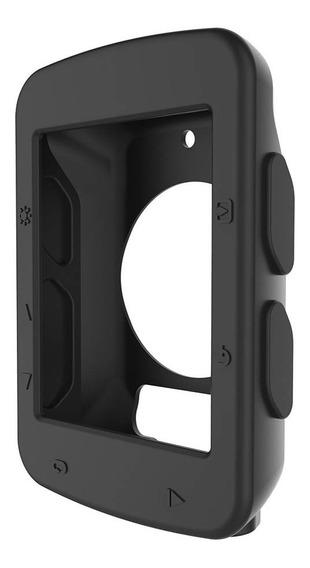 Capa E Película Para Edge 520 Case Protetor Garmin 520 Plus Em Silicone Premium Incluso Uma Película De Vidro Temperado