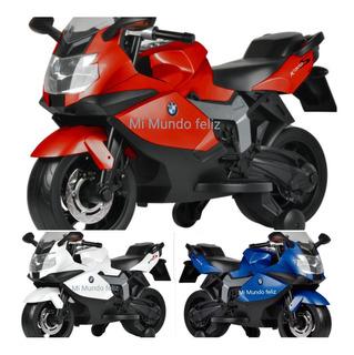 Moto Motocicleta Para Niño A Bateria Bmw Original K1300s