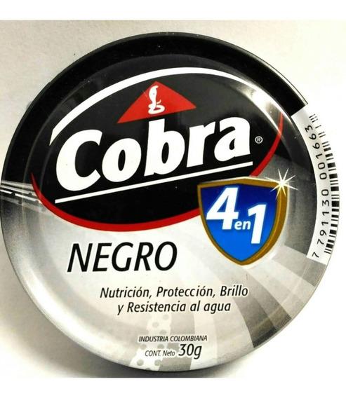 Pomada Para Zapatos Cobra X 3 - Negro