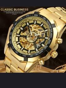 Relógio Forsining Automático Original Luxo, 3atm