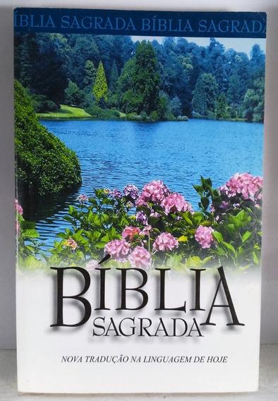 Bíblia Sagrada Nova Tradução Linguagem De Hoje Sbb Religião
