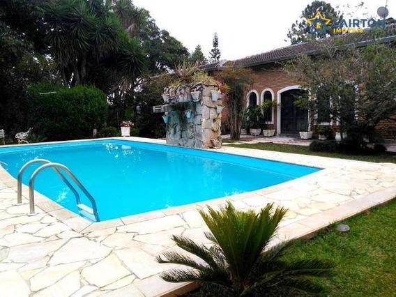 Chácara Com 4 Dormitórios À Venda, 3000 M² Por R$ 599.000,00 - Pinheirinho - Atibaia/sp - Ch0142