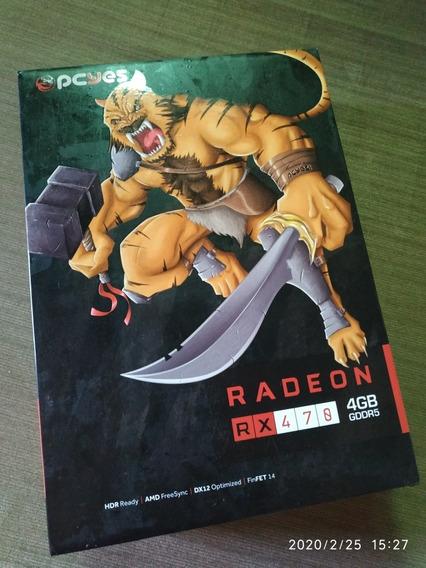 Placa De Video Pcyes! Radeon Rx 470 4gb Gddr5 256-bit
