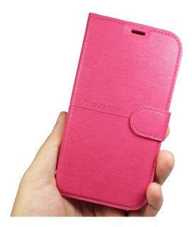 Capa Flip Case Carteira Courino Lenovo K8 Plus Tela (5.2)